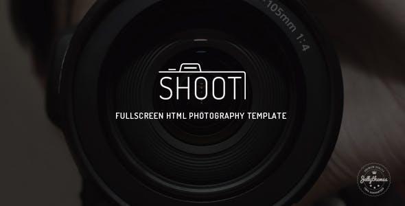 Shoot - Fullscreen Photography HTML Template