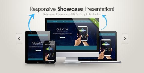 Dcele- Landing Page-PSD Template - Photoshop UI Templates