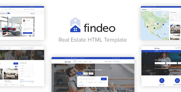 Findeo - Real Estate HTML Template - Business Corporate