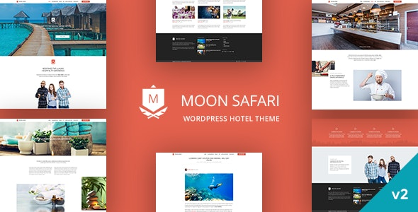 Moon Safari - WordPress Hotel Theme - Travel Retail