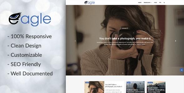Eagle - Responsive Magazine Blogger Template - Blogger Blogging