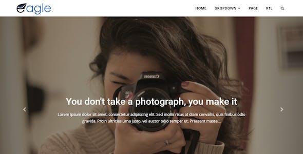 Eagle - Responsive Magazine Blogger Template