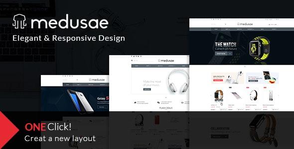 MEDUSAE eCommerce Multi-purpose PSD Template - PSD Templates