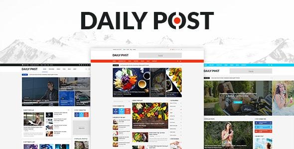 DailyPost - Multi-Purpose Magazine PSD Template - Miscellaneous Photoshop