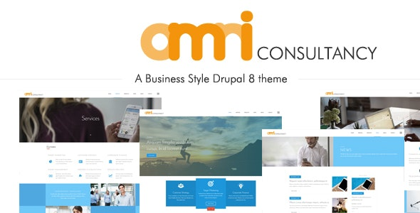 Omni Consultancy - Multi-purpose Business Style Drupal 8 Theme - Business Corporate