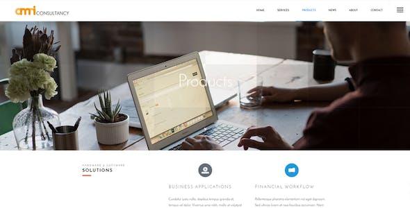 Omni Consultancy - Multi-purpose Business Style Drupal 8 Theme