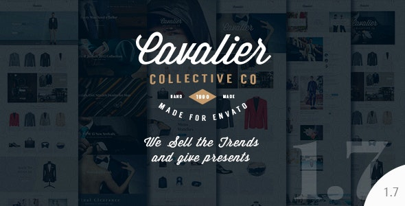 Cavalier - We Sell the Trends. Woocommerce Theme - WooCommerce eCommerce