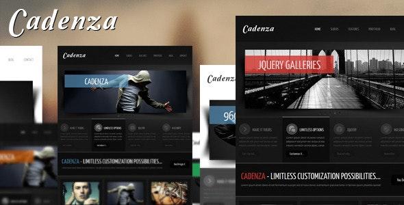 Cadenza - Portfolio Business HTML Template - Corporate Site Templates