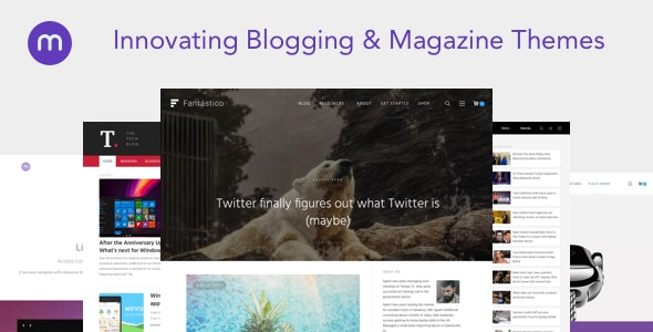 Magazine3 WordPress Theme - Blog / Magazine WordPress