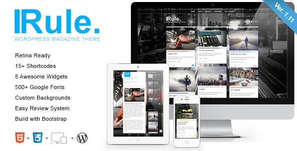 Rule - Retina Responsive WordPress Theme - Blog / Magazine WordPress