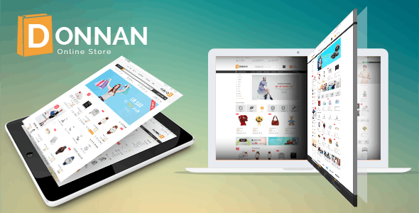 Donnan - eCommerce Fashion Template - Fashion Retail