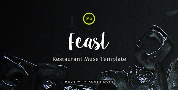 Feast - Restaurant Muse Template - Miscellaneous Muse Templates