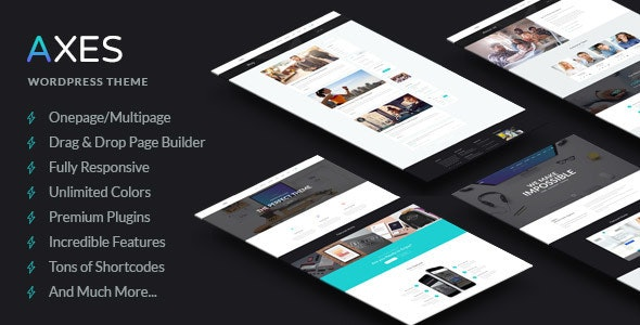 Axes   Multi-Purpose Responsive WordPress Theme - Portfolio Creative