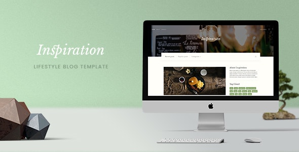 Inspiration — Lifestyle Blog PSD Template - PSD Templates