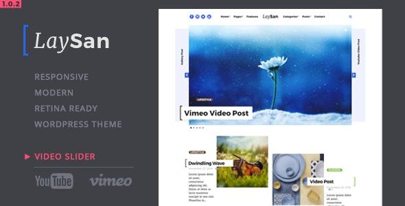 Laysan - Responsive WordPress Blog Theme - Blog / Magazine WordPress