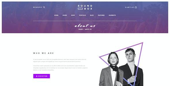 SoundBox | Easy Digital Downloads Responsive WordPress Theme