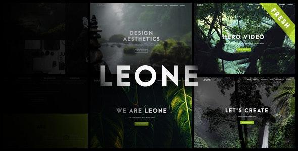 Leone - One Page Multi Purpose Template - Creative Site Templates