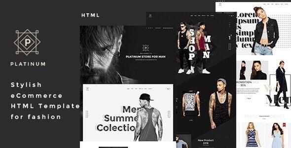 Platinum - Stylish eCommerce HTML Template for Fashion - Fashion Retail