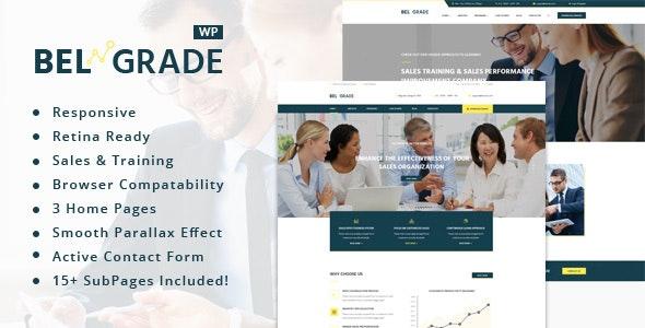 Belgrade - Training, Coaching, Consulting & Business WordPress Theme - Business Corporate