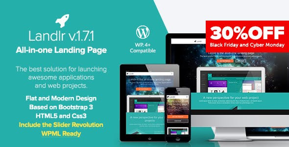 Landlr – The All-in-One Landing Page - WordPress