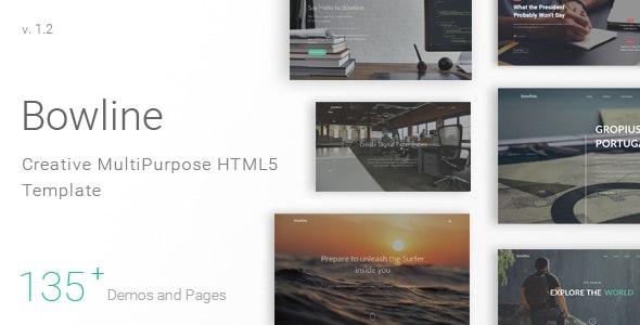 Bowline - Creative HTML5 Template - Creative Site Templates