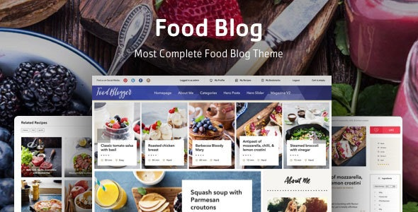 Boiler - Personal Food Blog Theme for WordPress - Personal Blog / Magazine