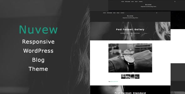 Nuvew - Responsive WordPress Blog Theme