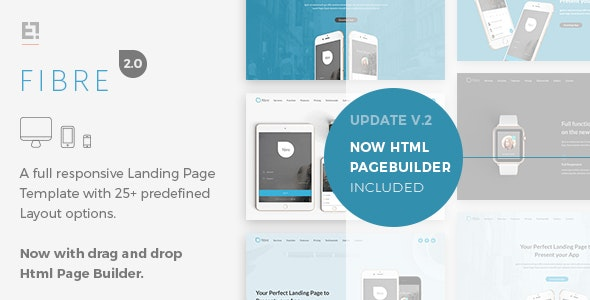 Fibre - App Landing Page - Apps Technology