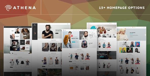 Athena - Fashion eCommerce PSD Template - Fashion Retail