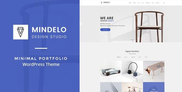 Mindelo - Minimal Portfolio WordPress Theme - Portfolio Creative