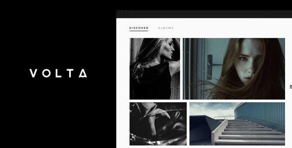 Volta - Photography Portfolio WordPress Theme - Photography Creative