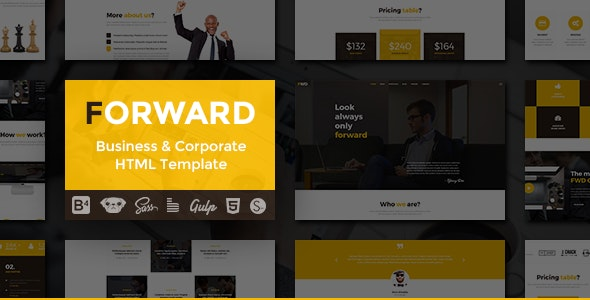 Forward - Business & Corporate HTML Template - Business Corporate