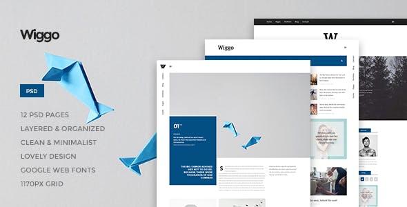 Wiggo - Multi-Concept HTML Template