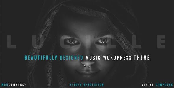 Lucille - Music WordPress Theme