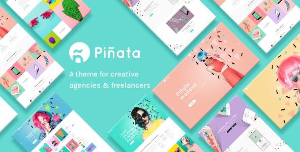 Piñata - Creative Agency Theme - Creative WordPress