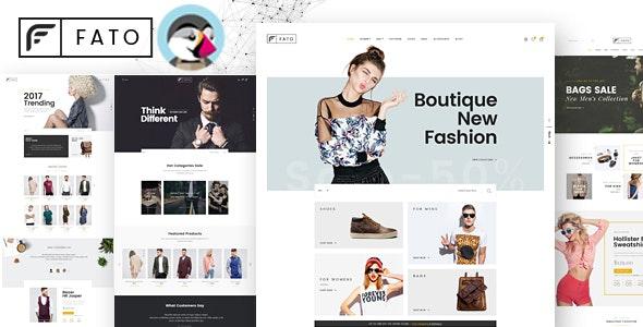 Fato - Multipurpose Responsive Prestashop Theme - Fashion PrestaShop