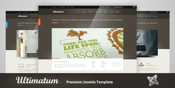 Ultimatum - Premium Joomla Template - Joomla CMS Themes