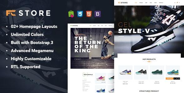 FCstore - Premium Responsive Prestashop Theme - PrestaShop eCommerce