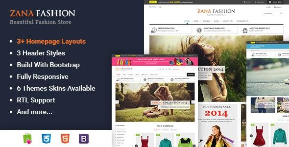 Zana - Multipurpose Responsive Prestashop Theme - Shopping PrestaShop