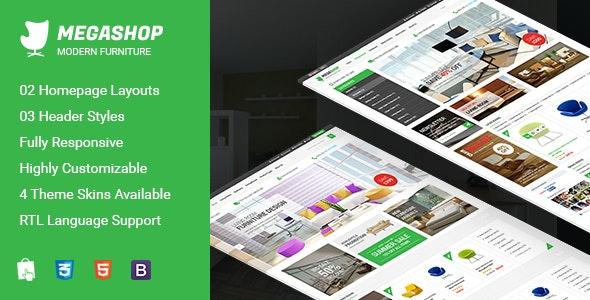 Megashop - Premium Responsive Prestashop Theme - Shopping PrestaShop