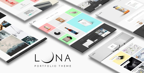LUNA - Creative Portfolio And Agency WordPress Theme - Portfolio Creative