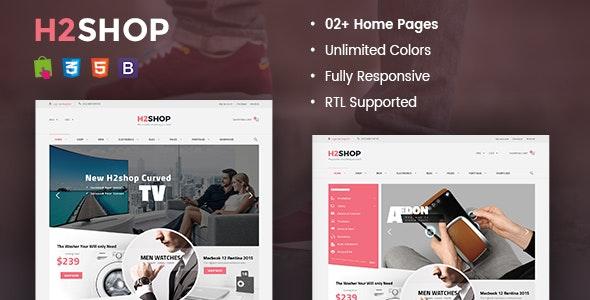 H2shop - Multipurpose Responsive Prestashop Theme - Shopping PrestaShop