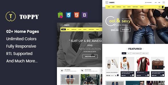 Toppy - Multipurpose Responsive Prestashop Theme - PrestaShop eCommerce