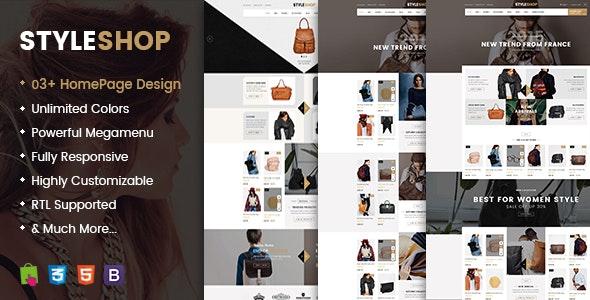 Styleshop - Premium Responsive Prestashop Theme - PrestaShop eCommerce