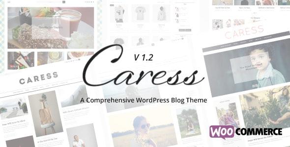 Caress - A Comprehensive WordPress Blog Theme - Personal Blog / Magazine