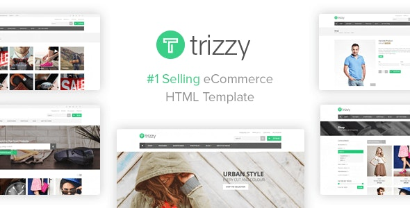 Trizzy - Multi-Purpose eCommerce Shop HTML Template - Shopping Retail