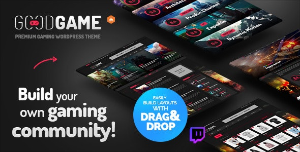 GoodGame - Twitch Integrated WordPress Gaming News Magazine - Entertainment WordPress