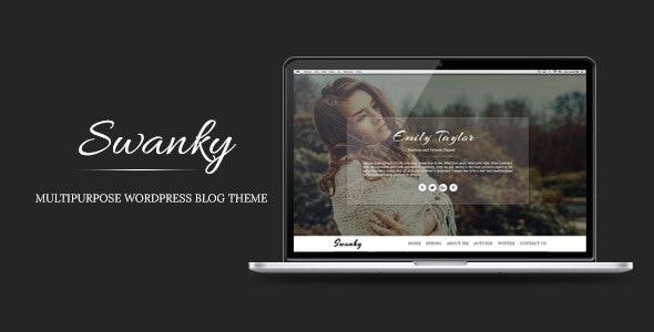 Swanky - Multipurpose WordPress Blog Theme - Personal Blog / Magazine