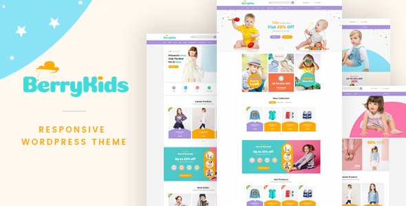 BerryKid - Baby Store WooCommerce WordPress Theme - WooCommerce eCommerce