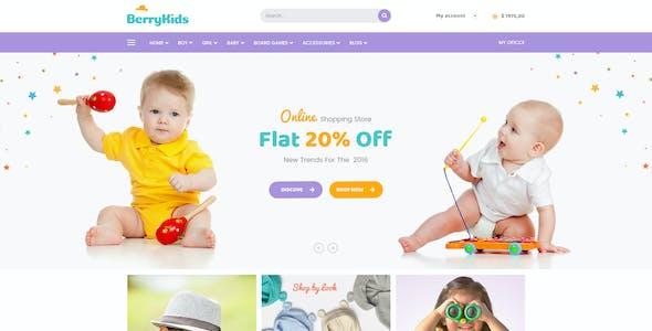 BerryKid - Baby Store WooCommerce WordPress Theme